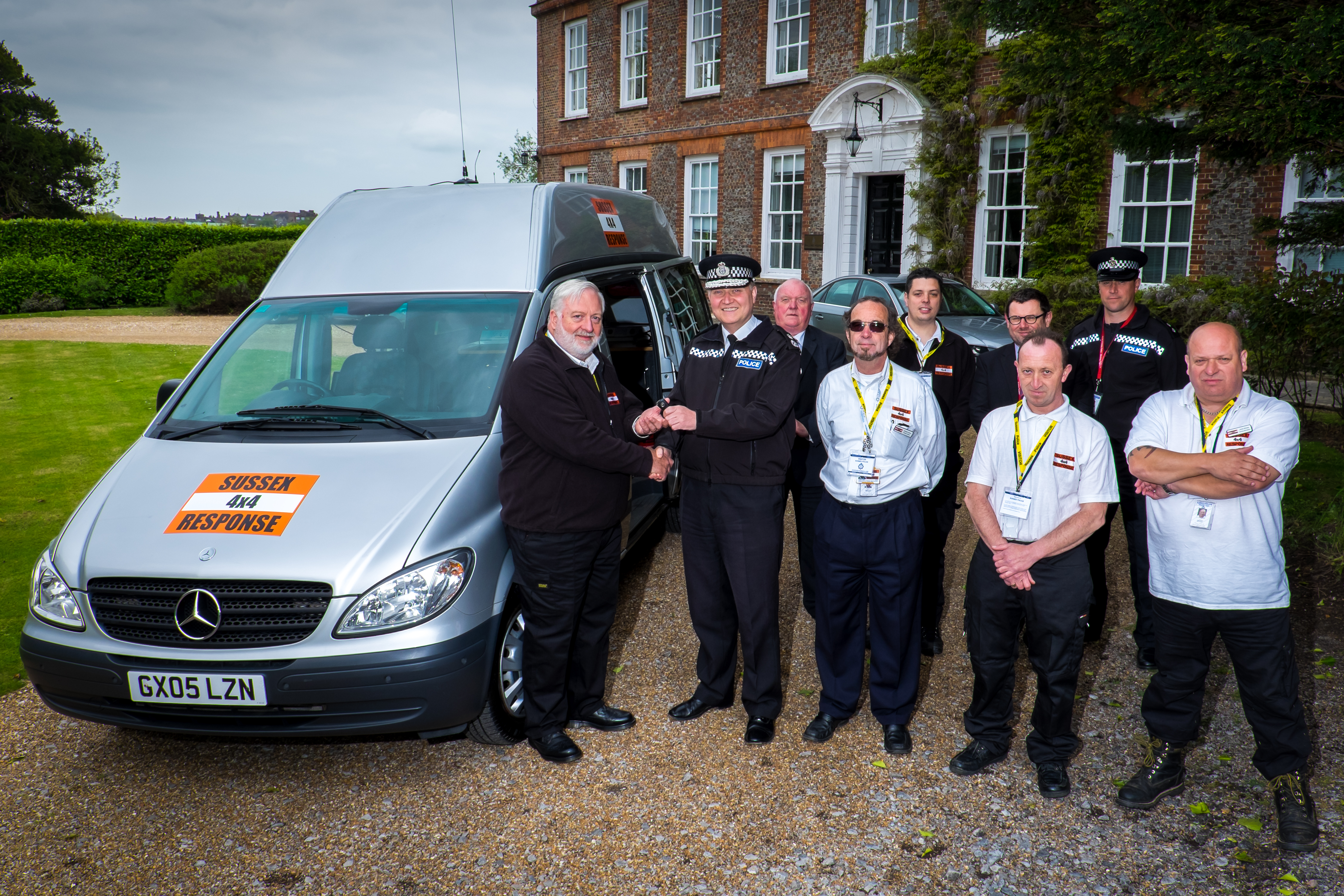 Sussex Police Donation Will Help 'Command' Sussex 4×4 Response